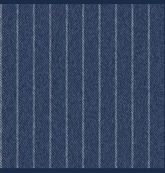 pinstriped denim fabric texture seamless pattern vector image