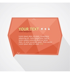 Red text box vector