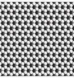 Soccer ball seamless pattern texture vector image