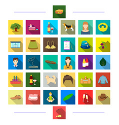 Travel entertainment decorations and other web vector