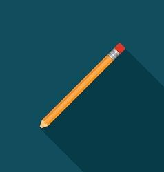 pencil icon v vector image