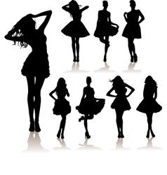 winter fashion sale vector image vector image
