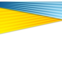 Abstract colorful corporate striped background vector image vector image