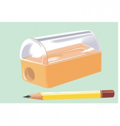 sharpener vector image