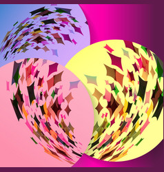 Abstract background texture design bright poster vector