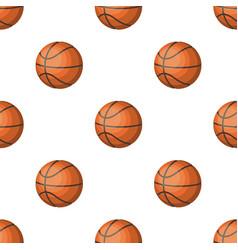 Basketballbasketball pattern icon in cartoon vector