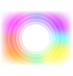 colorful abstract circle vector image