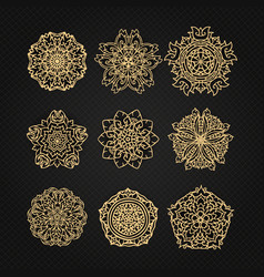 Design elements graphic thai design vector