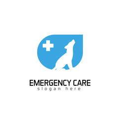 emergency care logo vector image