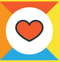 favorite colorful outline symbol premium quality vector image