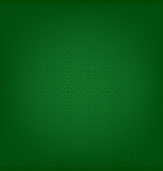 green geometric pattern vector image vector image
