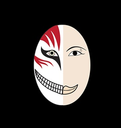 Halloween Mask vector image
