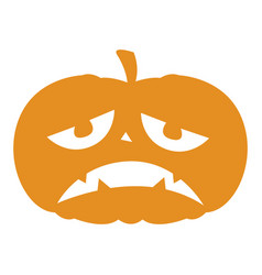 Isolated halloween pumkin vector