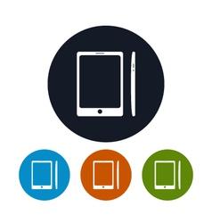 Phone icon gadget icon vector image vector image