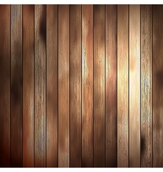 Background wood texture old panels EPS 10 vector image