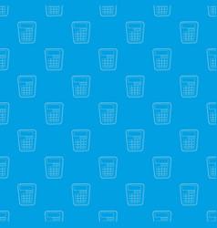 Calculator pattern seamless blue vector