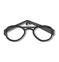 glasses eyewear icon image vector image