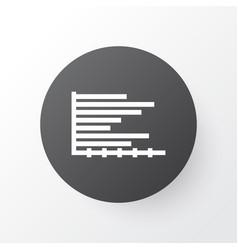horizontal icon symbol premium quality isolated vector image