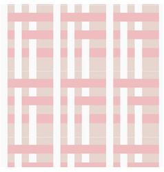 modern pink white line pattern design image vector image