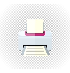 Sale of Household Appliances Printer vector