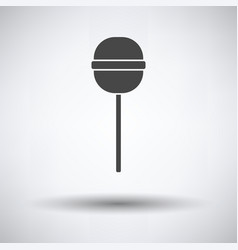 stick candy icon vector image