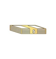 Bundle of Dollars computer symbol vector