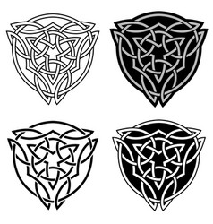 decorative arabic ornaments tattoo design vector image