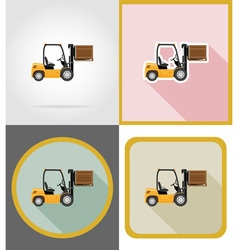 Delivery flat icons 09 vector