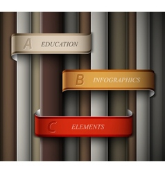 Education banner vector