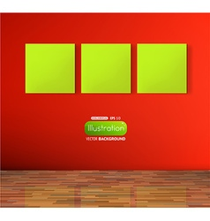 Empty Storefront Design vector