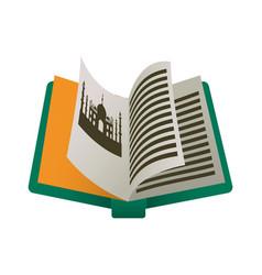 India tourism book vector