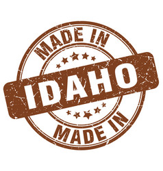 Made in idaho vector