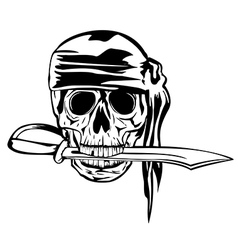 pirate and dagger1 vector image