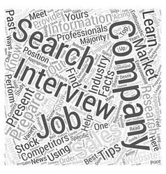 sales job search tips dlvy nicheblowercom Word vector image