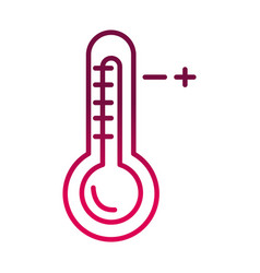 Thermometer hot temperature fever prevent the vector