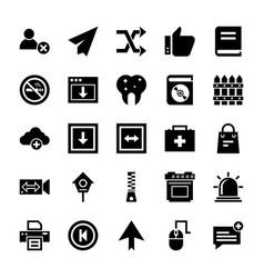 Ui icons set vector