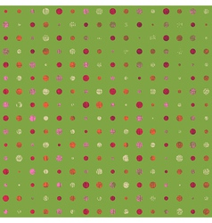 Grunge Color Dots vector image vector image