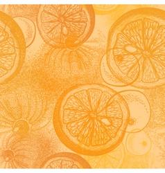 Oranges citrus Wallpaper seamless pattern vector image vector image