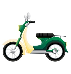 A motorbike vector image