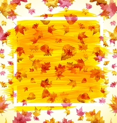 Autumn abstract background eps 10 vector image