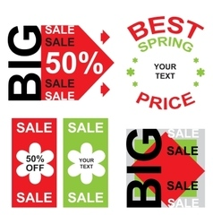 big sale announcement vector image