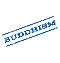 Buddhism Watermark Stamp vector