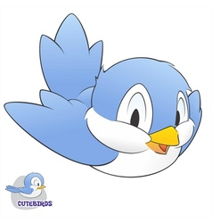 Cartoon bird vector