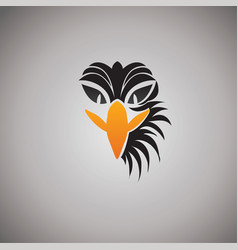 Eagle logo ideas design vector