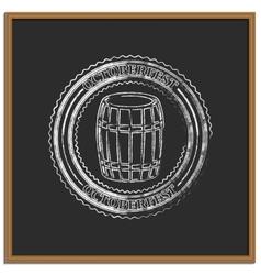Emblem Oktoberfest vector