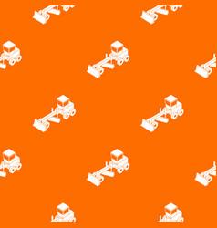 Grader pattern orange vector