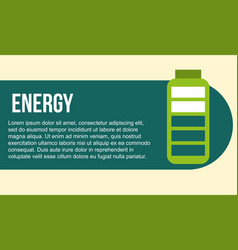 Green energy alternative vector