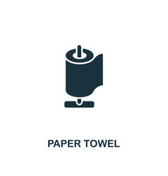 paper towel icon premium style design from vector image