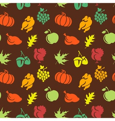 Thanksgiving seamless pattern vector