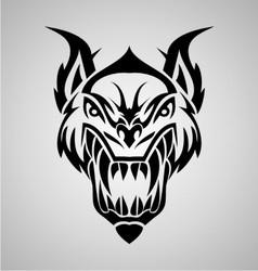 Tribal Demon vector image vector image